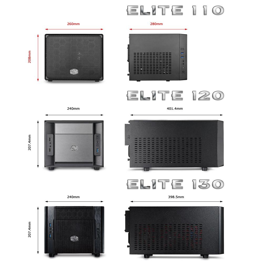 Elite 110 Cooler Master Inside A Computer Tower Parts For Pinterest