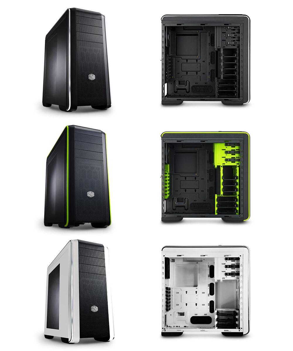 Cooler Master CM 693 CPU Cabinet (Green)