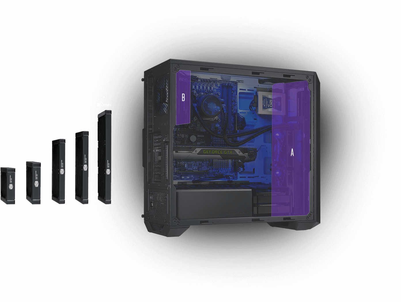 Masterbox Pro 5 Rgb Cooler Master Corsair Cases Wiring Diagrams Internal Configuration
