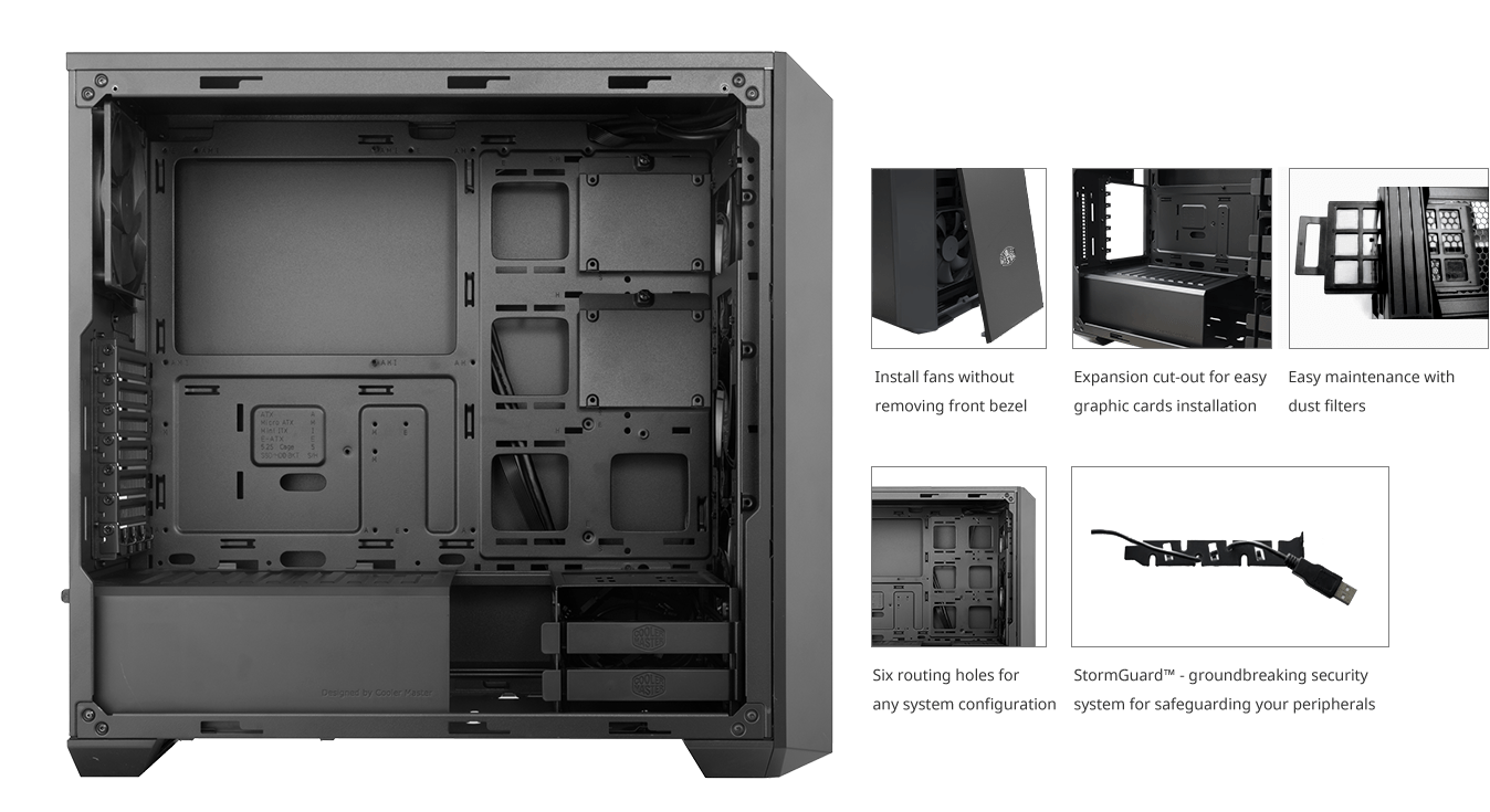 Masterbox Pro 5 Rgb Cooler Master