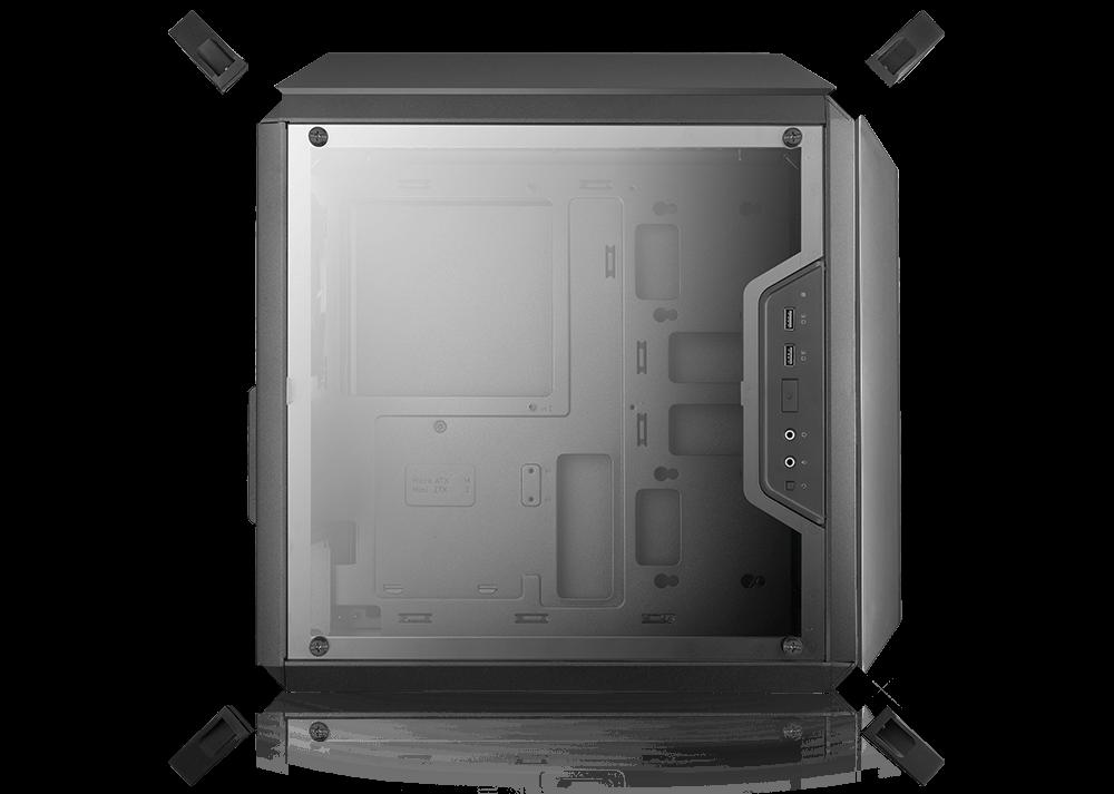 Cooler Master, Master Box Q300P wRGB fans (MCB-Q300P-KANN-S02)