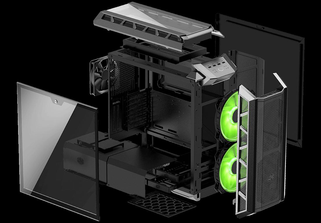 SORTEO INTERNACIONAL Cooler Master MasterCase H500P