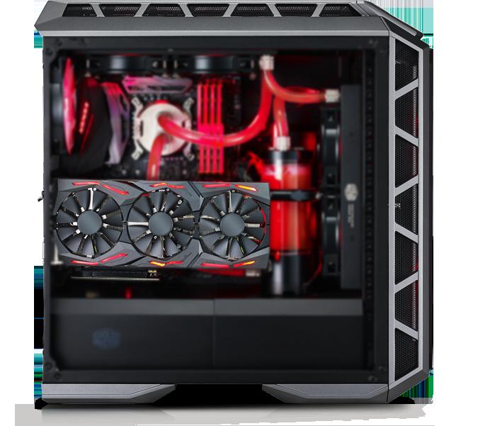 CoolerMaster MasterCase H500P ATX Mid-Tower Case