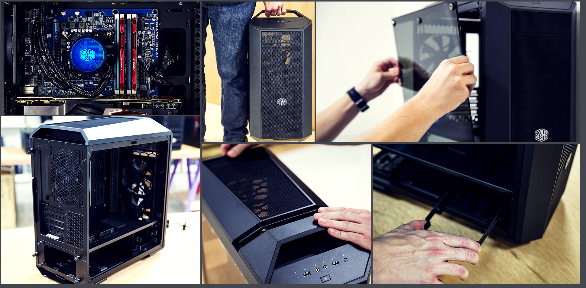 Cooler Master MasterCase Pro 3 Micro-ATX with FreeForm Modular System