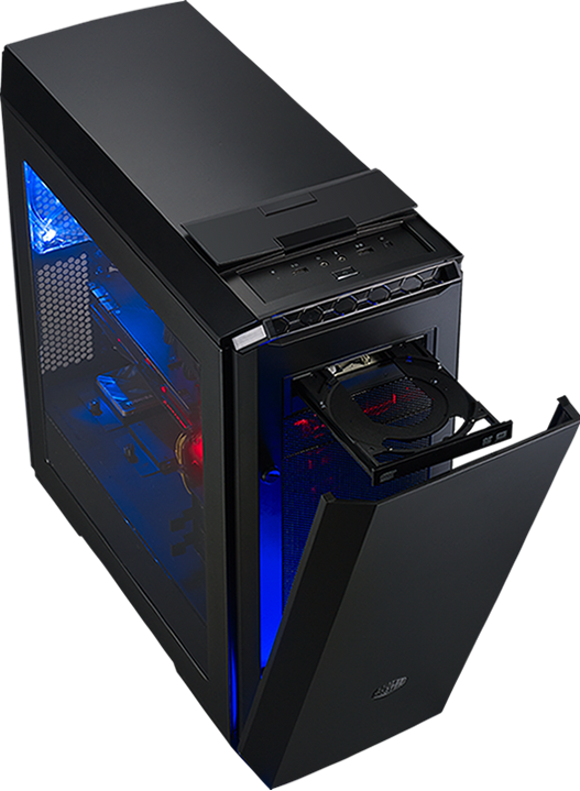 Cooler Master MasterCase Pro 6 ATX Mid-Tower Computer Case with LEDs