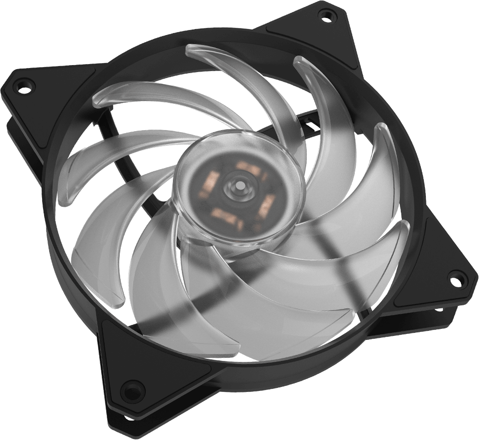 Masterfan Mf120r Argb Cooler Master Installing Electric Fan On A C3 Hybrid Design