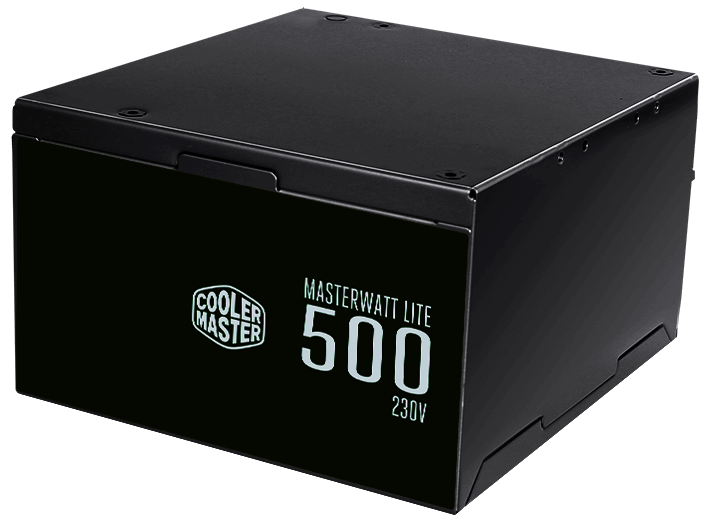 Cooler Master MasterWatt Lite 500W Power Supply (500 Watts SMPS, 80 PLus)